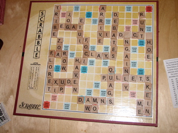 Scrabble Board March 2008