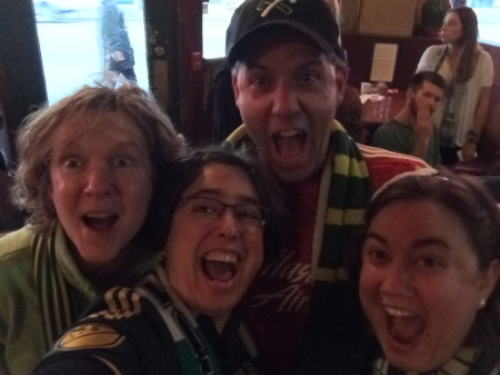 We are excited that the Timbers won the MLS Championship 2015!